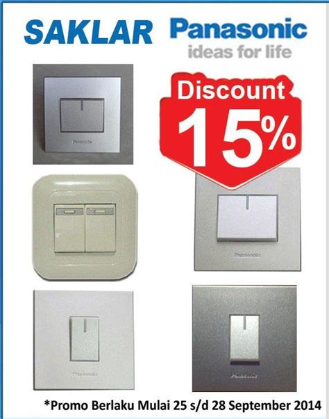 Saklar Broco sell switch panasonic from indonesia by pt megamas plaza bangunan home smart cheap price