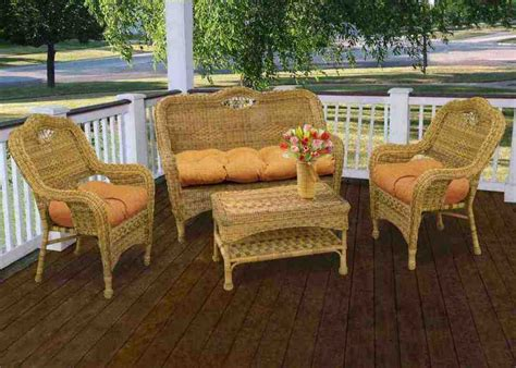 Wicker Outdoor Furniture by Wicker Patio Chair Cushions Home Furniture Design