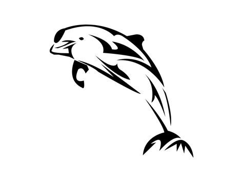 10 beautiful tribal dolphin tattoos only tribal