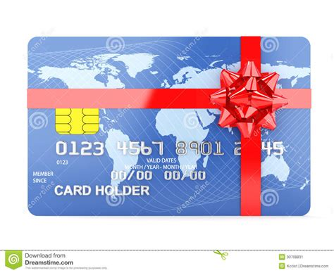 Credit Gift Cards - gift credit card stock image image 30708831