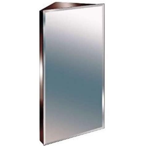 600mm Stainless Steel Mirror Bathroom Corner Cabinet