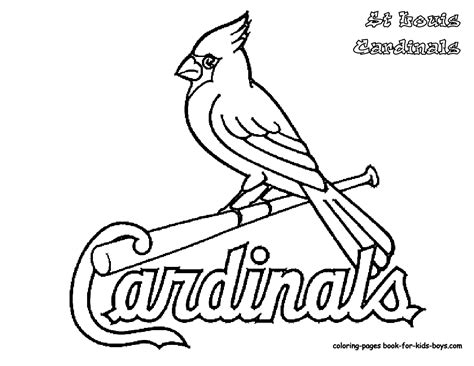 the colored aristocracy of st louis books cardinal coloring pages getcoloringpages