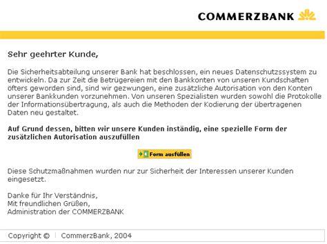 commerz bank login tu berlin hoax info blatt identity theft