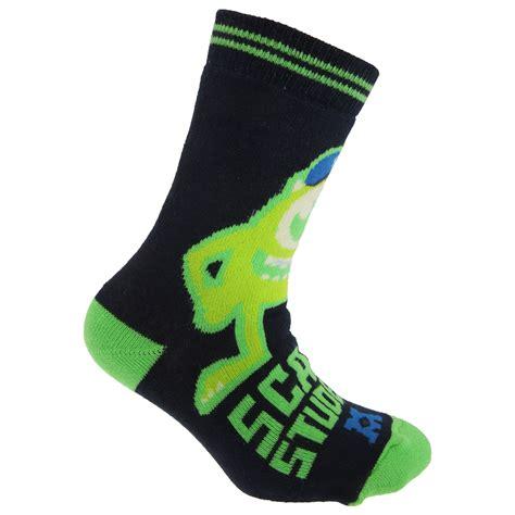 disney slipper socks disney monsters official childrens slipper
