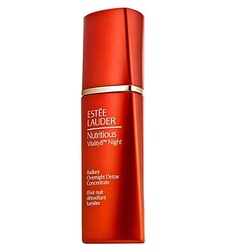 Estee Lauder Nutritious Vitality8 Radiant Overnight Detox Concentrate by Estee Lauder Makeup Skincare And Other Products Page 4