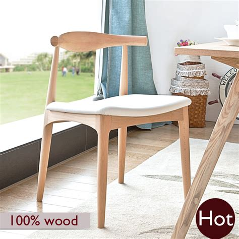 Handcrafted Solid Wood Furniture - hans wegner chair 100 soild wood dinning chair european