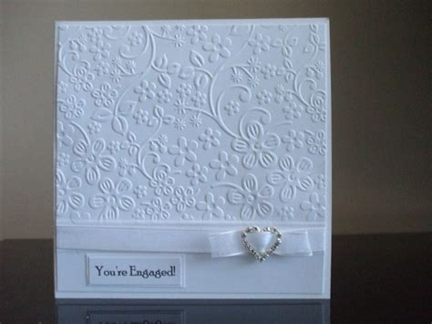 Handmade Engagement Card - handmade engagement card card ideas