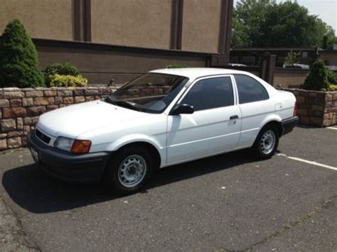 automotive air conditioning repair 1995 toyota tercel electronic throttle control purchase used 1995 toyota tercel dx sedan 2 door 1 5l in new york new york united states for
