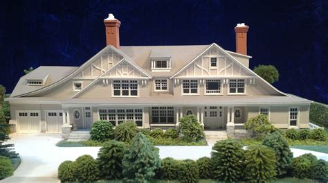 Architectural Model Kits by Architectural House Models Of Houses In The Hamptons Long