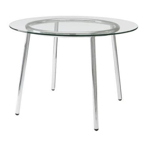ikea glass dining table salmi table ikea