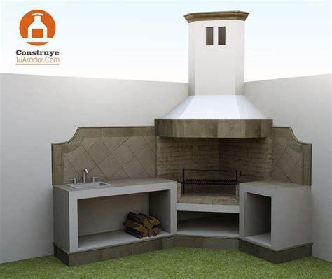 asadores de patio modernos las 25 mejores ideas sobre