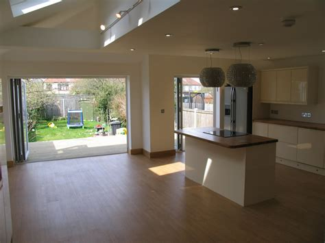 bifold kitchen doors kitchens property rejuvenation chelmsford essex