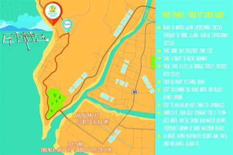 iba zambales resort map island ph in subic from nadine