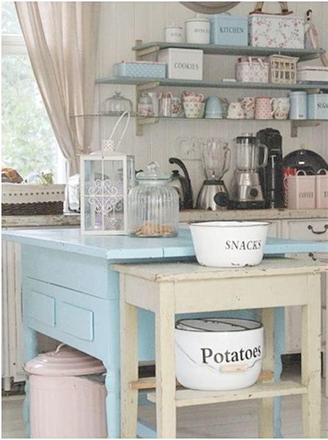 Diy Blue Kitchen Ideas 13 Ideas Para Poner Una Isla En La Cocina Tienda De Decoraci 243 N Y Muebles Personalizados