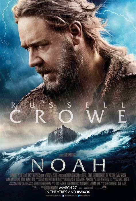 Film Noah | russell crowe in noah 2014 movie poster we geek girls