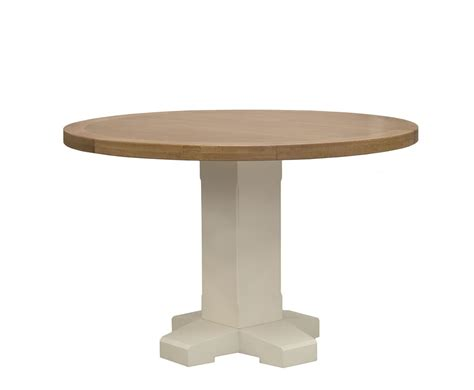 marne two tone dining table
