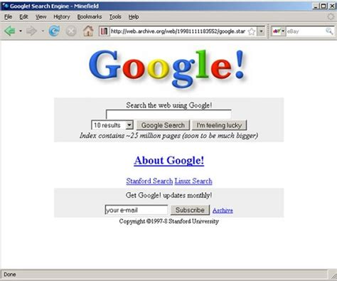 design google homepage the rise and fall of yahoo if only they hadn t screwed up