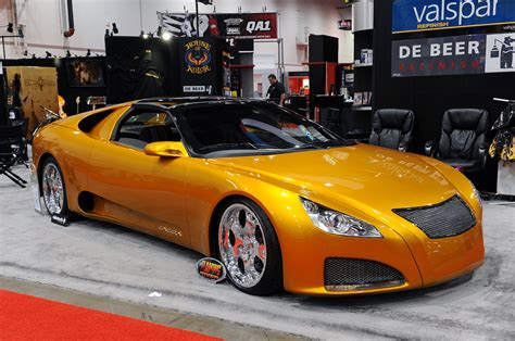 customized cars sema 2009 ghepardo by caccia custom cars photo gallery