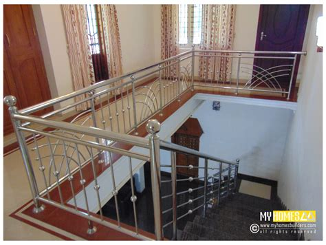 staircase design inside home best fresh staircase steel railing designs kerala 9209