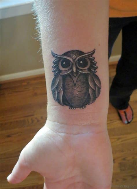 perfect wrist tattoo 36 owl tattoos on wrist