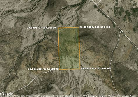terlingua map 99 68 month 20 acres west land on terlingua