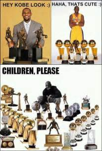 Kobe Lebron Jordan Meme - jordan vs lebron vs kobe really children please