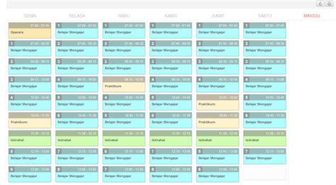 tips membuat jadwal kegiatan sehari hari cara membuat model jadwal baru template jadwal sd