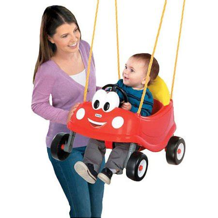 baby swing outdoor little tikes little tikes cozy coupe first swing walmart com
