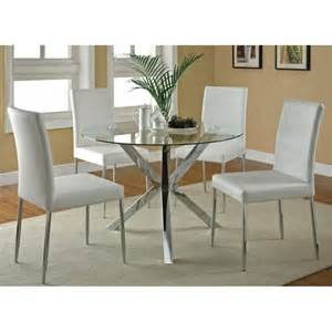 kitchen glass table sets clio modern glass kitchen table set