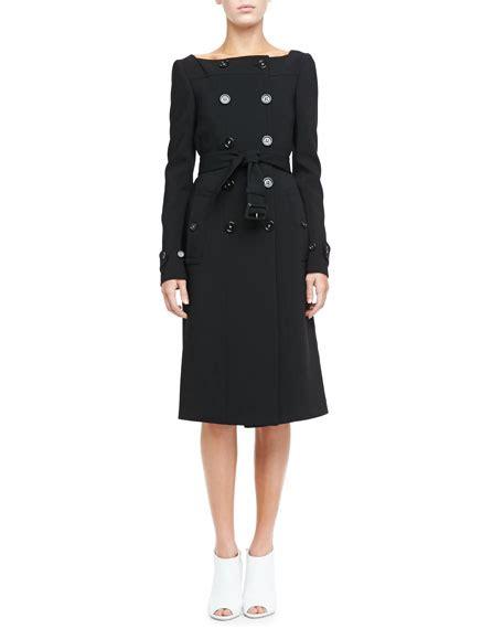 Burberry Square Dress burberry prorsum breasted square neck coat