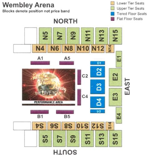 wembley arena floor plan strictly come dancing the live tour london wembley