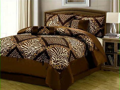 leopard king comforter set leopard print comforter set king size home design