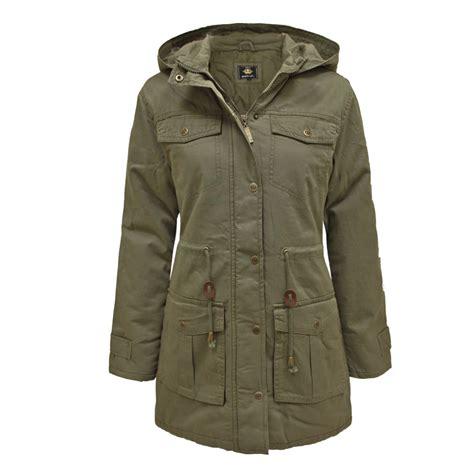 Coat Zipper Dea 7 brave soul womens retro vintage parka jacket sizes 8 16 ebay