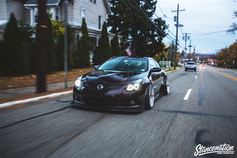stanced nissan altima redefine the tarek s nissan altima coupe