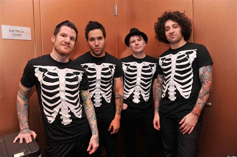 Fall Out Boy I fall out boy talk strangest fan mail row last meals for huffpost s nofilter photos
