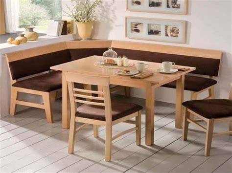 Breakfast Nook Tables | 12 cool corner breakfast nook table set ideas