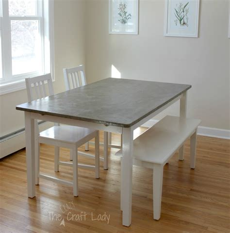 concrete top dining table diy concrete dining table top and dining set makeover