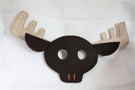 printable moose mask 1000 images about crafts moose stuff on pinterest