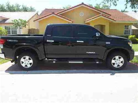 manual cars for sale 2008 toyota tundramax seat position control sell used 2008 toyota tundra limited extended crew cab pickup 4 door 5 7l in miami florida