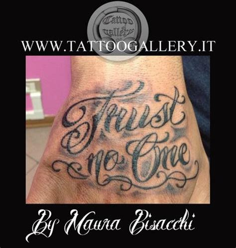 trust no one tattoo tattoo collections