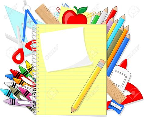 Notice Clipart School Background Pencil And In Color by Background Clipart Education Pencil And In Color