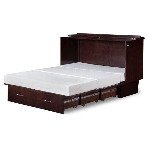 size murphy bed cabinet atlantic deerfield cabinet murphy bed in espresso