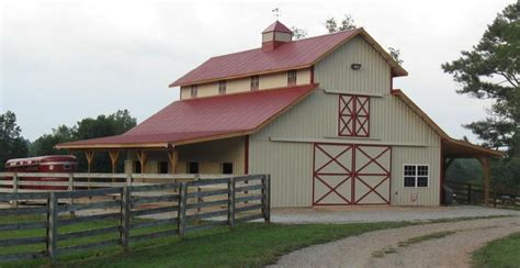 Rv Garage Plans With Apartment precision barn builders horse barn construction pole