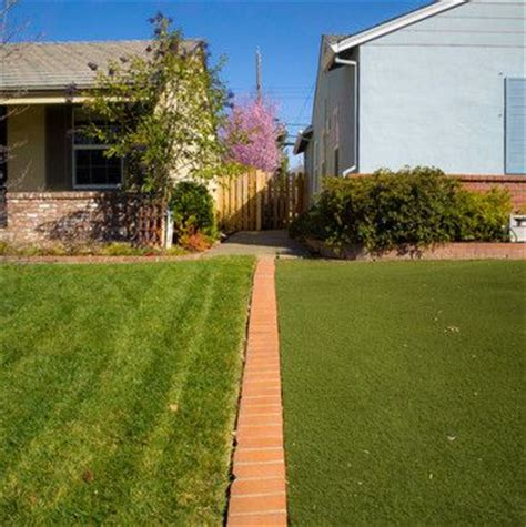 backyard neighbors idea for separating our lawn from our neighbor s lawn