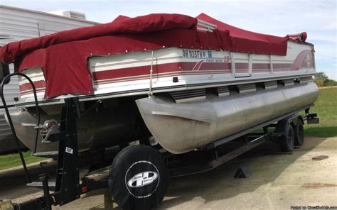 used pontoon boats for sale in ohio on craigslist boats for sale in hamilton ohio
