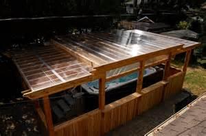 Enclosed Pergola Pictures by Enclosed Cedar Pergola For Outdoor Swim Spa Traditional