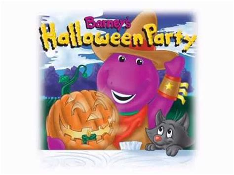 youtube barney and friends halloween party barney s book read along