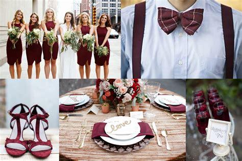 marsala pantone color of year 2015 wedding ideas a2zweddingcards