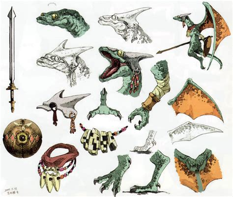 Banded Mask Gold lizalfos legend of an rpg to the past obsidian