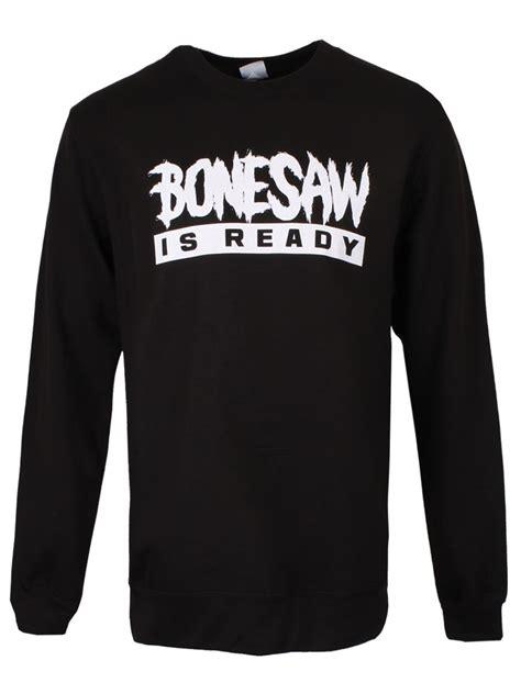 bone saw is ready bonesaw is ready s black sweater ebay
